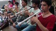 """31 minutos - Ensayos orquesta """"Calurosa navidad"""""""