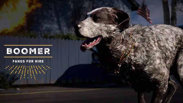 Far Cry 5 companion Boomer