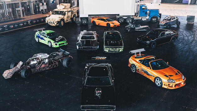 Fast and Furious Live cars