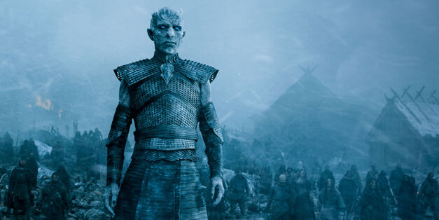 game of thrones night king white walkers