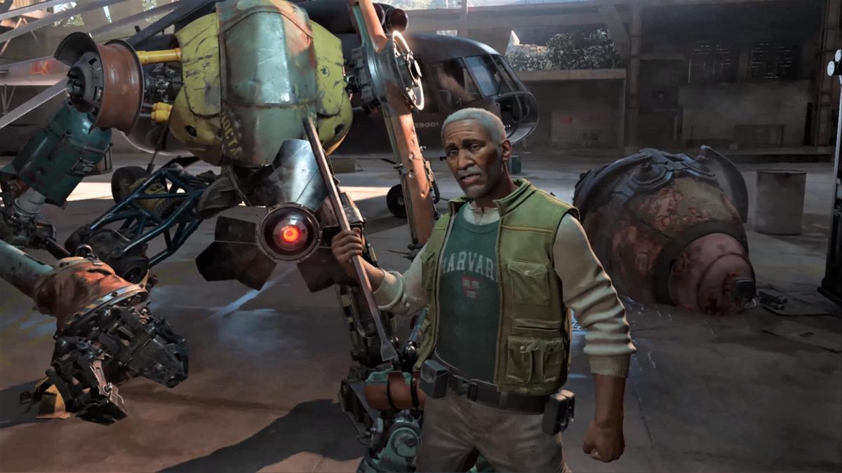 Half-Life Alyx post-credits