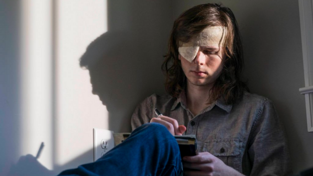 the walking dead season 8 carl
