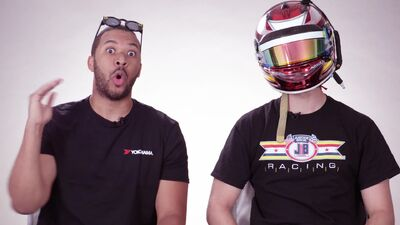 Watch This Pro Racer Swap Driving Tips With a Gamer in 'Gran Turismo Sport'