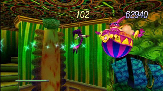 Nights into Dreams boss fight