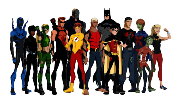 young-justice-character-designs