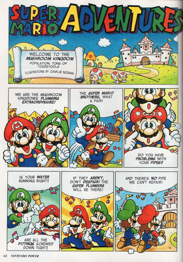 Viz Media Super Mario Adventures