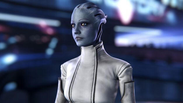Asari Mass Effect - Genderless Game characters