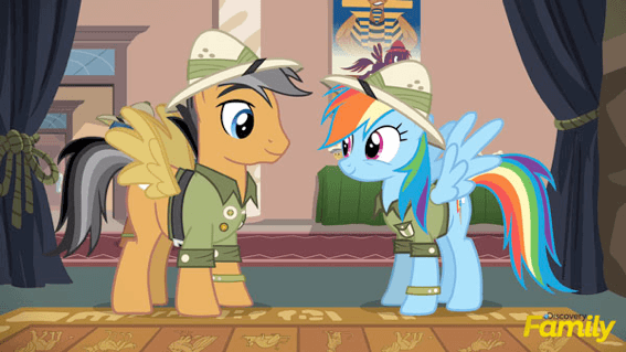 Quibble Pants Patton Oswalt My Little Pony Friendship is Magic
