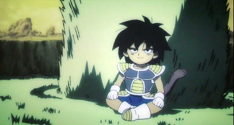 Young Super Broly, Dragon Ball Z