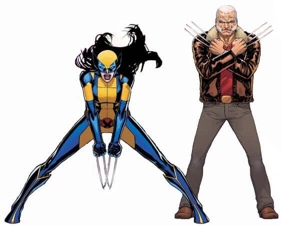All-New Wolverine and Old Man Logan