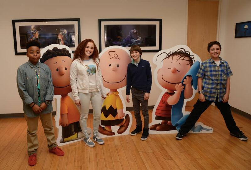 Peanuts Movie Kids