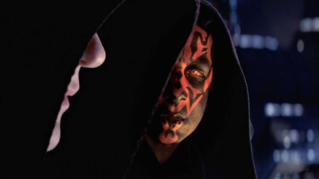 Darth Maul and Sidious Star Wars Sith Jedi together
