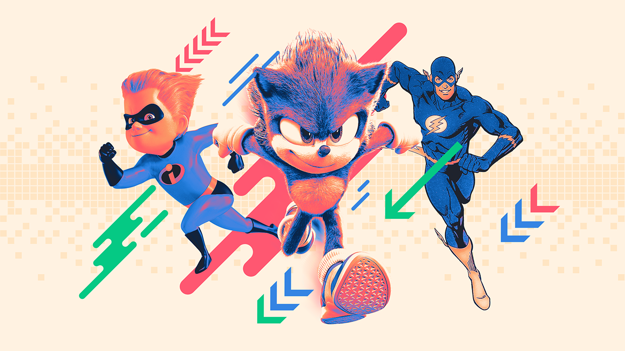 The Relative Speed Of Speedsters Sonic Vs The Rest Fandom