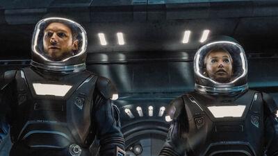 'Passengers' Trailer Reveals Polished, Sexy Sci-Fi