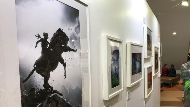 Horizon Zero Dawn photo mode exhibition