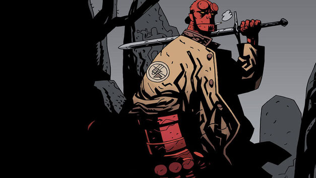 Hellboy DC Characters