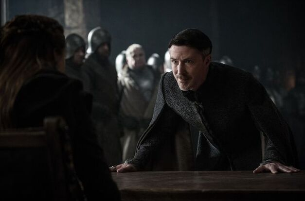 Petyr Baelish begs Sansa Stark for his life