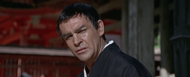 Sean Connery pretends to be turning Japanese, I really think so.