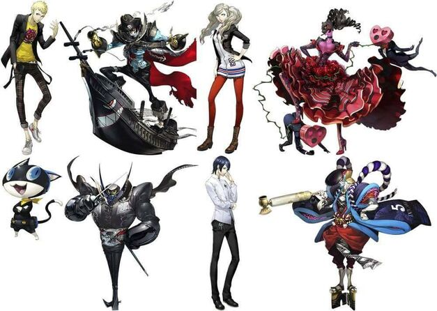 Persona 5 Characters and their Personas