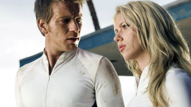 the island ewan mcgregor and scarlett johansson