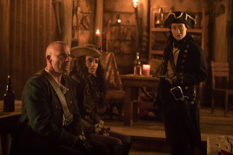 Legends of Tomorrow Pirates