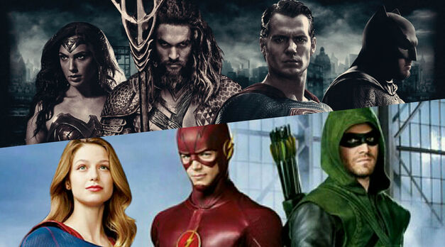 dc characters movies shows
