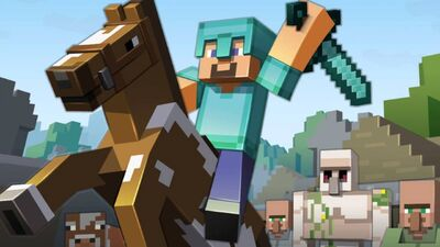 People Play 'Minecraft' Differently When Bitcoin Is on the Line