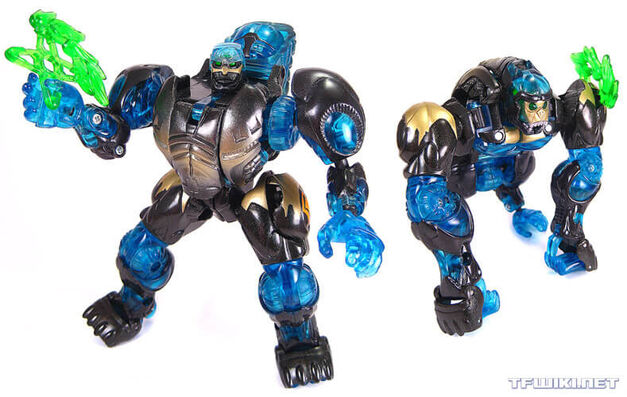 """Can we make Optimus Primal skinless and frightening to children?"""