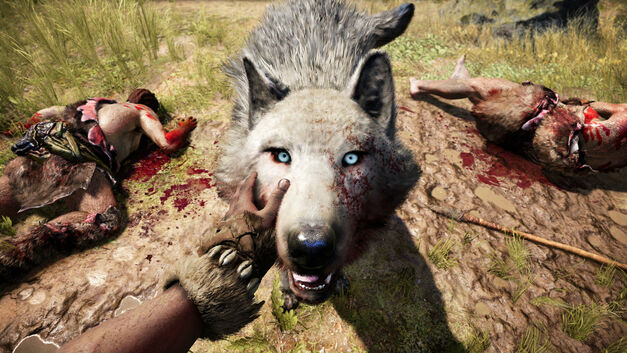 Far Cry Primal's animal interactions are the best the series has seen to date.