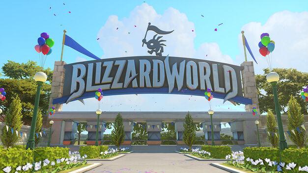 Overwatch new map Blizzardworld
