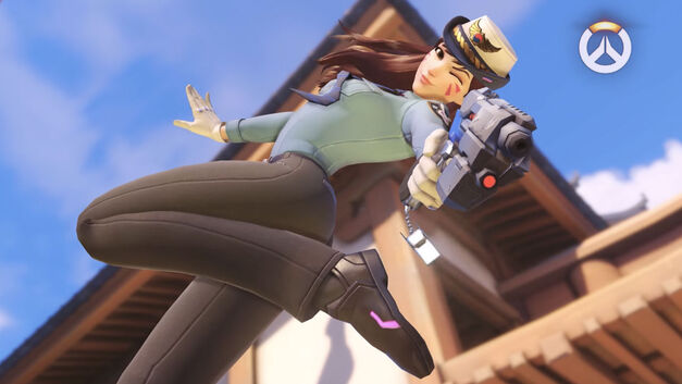 Heroes of the Storm Overwatch Officer D.Va
