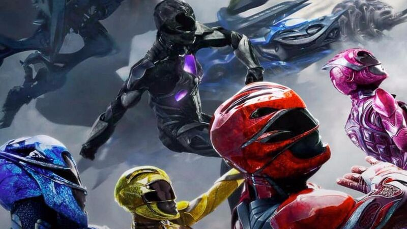 power rangers poster feature