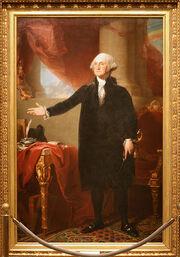 George Washington (Lansdowne portrait), First President (1789-1797)