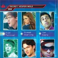 Suspect card for Vesper Three, The Mole (Card 284)
