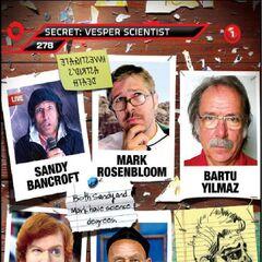 Suspect card for Vesper Four, The Scientist (Card 278)