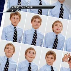 Dan's passport pictures