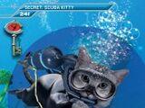 Card 241: Scuba Kitty