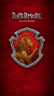 Pottermore Gryffindor Screensaver 1080x1920