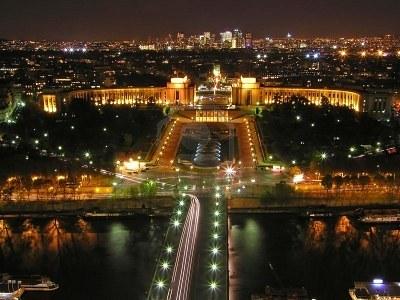 Paris from Eiffel