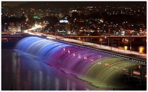 Seoul Banpo Bridge