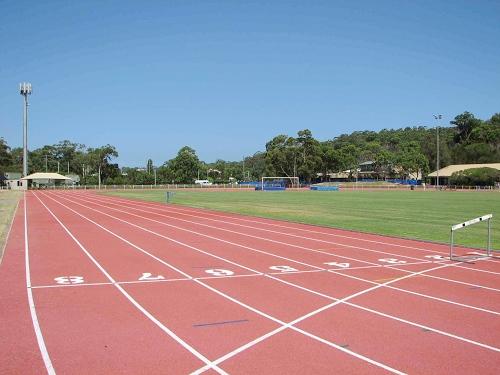 Holt Running Track