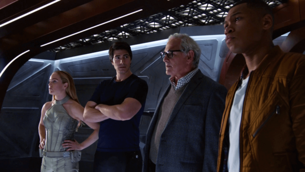 The team comes together - Legends of Tomorrow