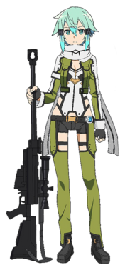 Sinon GGO Full Body
