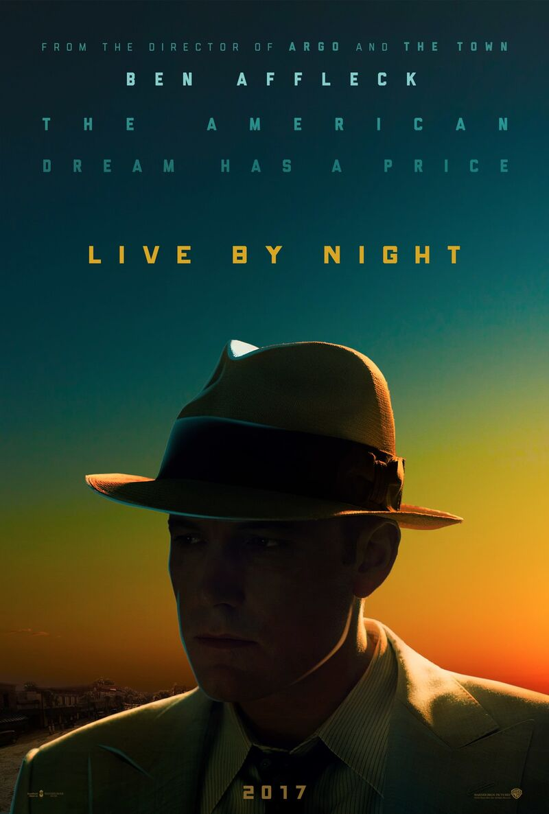 live by night poster ben affleck