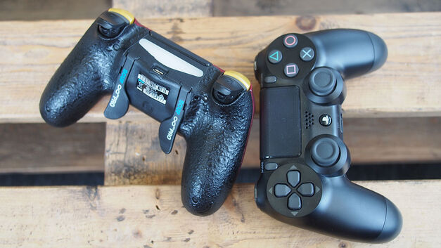 SCUF Infinity 4PS Pro and Sony DualShock 4