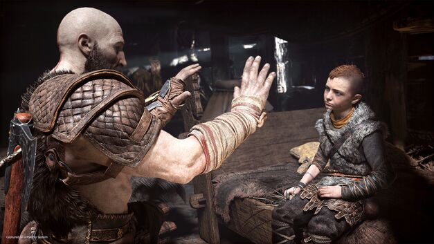 Kratos tests Atreus' speed and temper