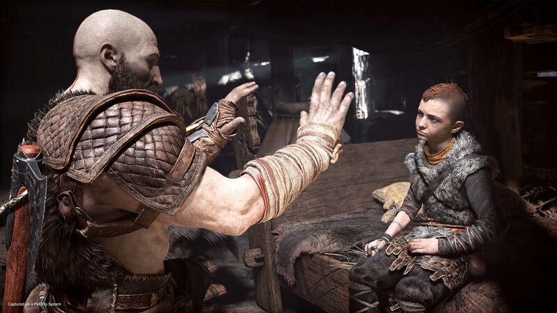 Kratos tests Atreus' speed and temper