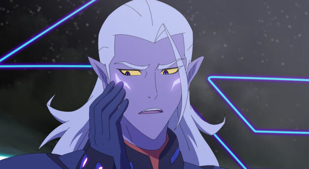 Lotor notices his Altean marks