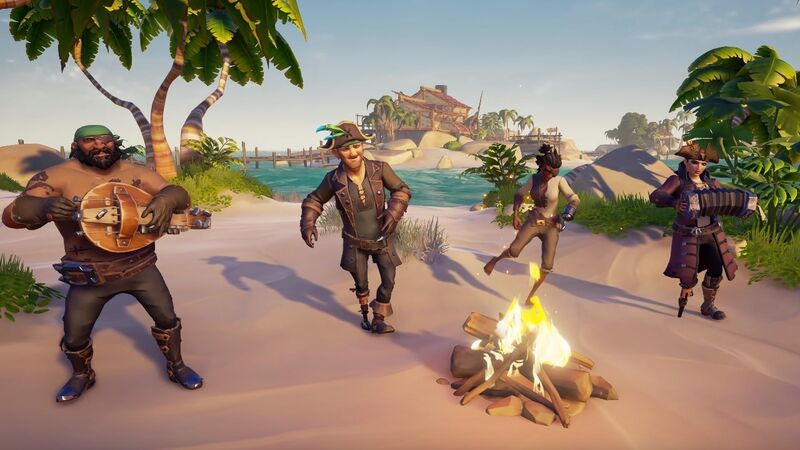 Sea Of Thieves party