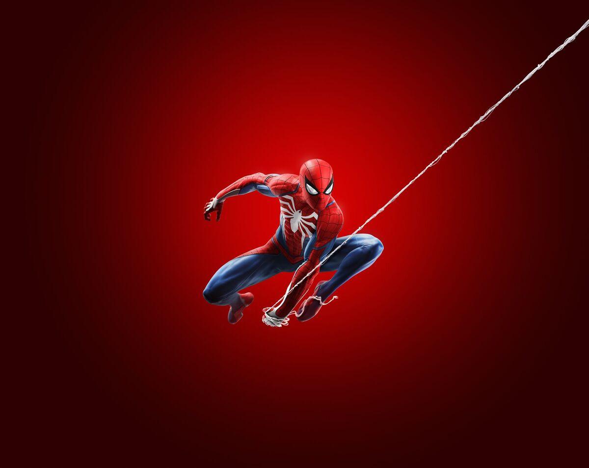 Spider-Man character render